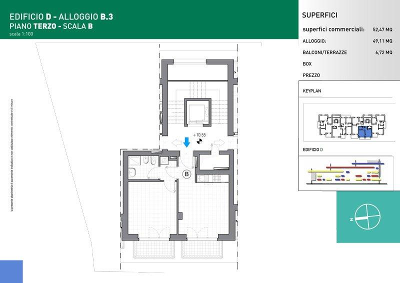 Vendita Bilocale Grugliasco - Vendita Appartamenti Grugliasco Torino   Torre Lesna