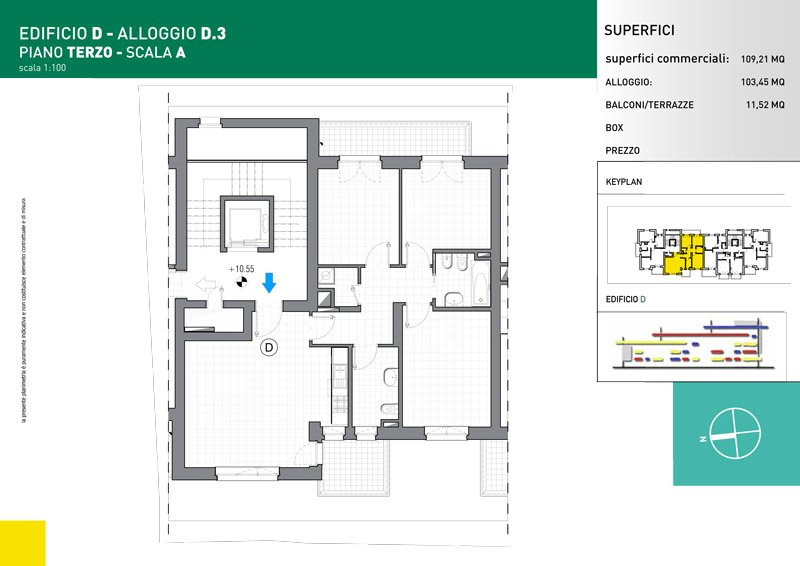 Vendita Cinque Locali Grugliasco - Vendita Appartamenti Grugliasco Torino   Torre Lesna
