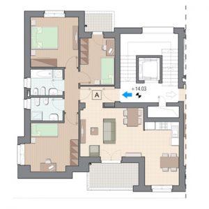 Vendita Cinque Locali Grugliasco - Vendita Appartamenti Grugliasco Torino | Torre Lesna