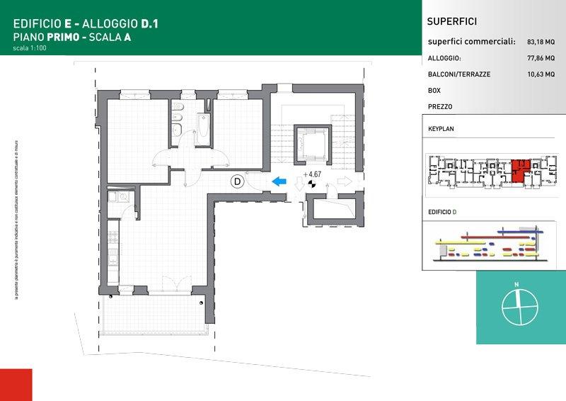 Vendita Trilocale Grugliasco - Vendita Appartamenti Grugliasco Torino   Torre Lesna