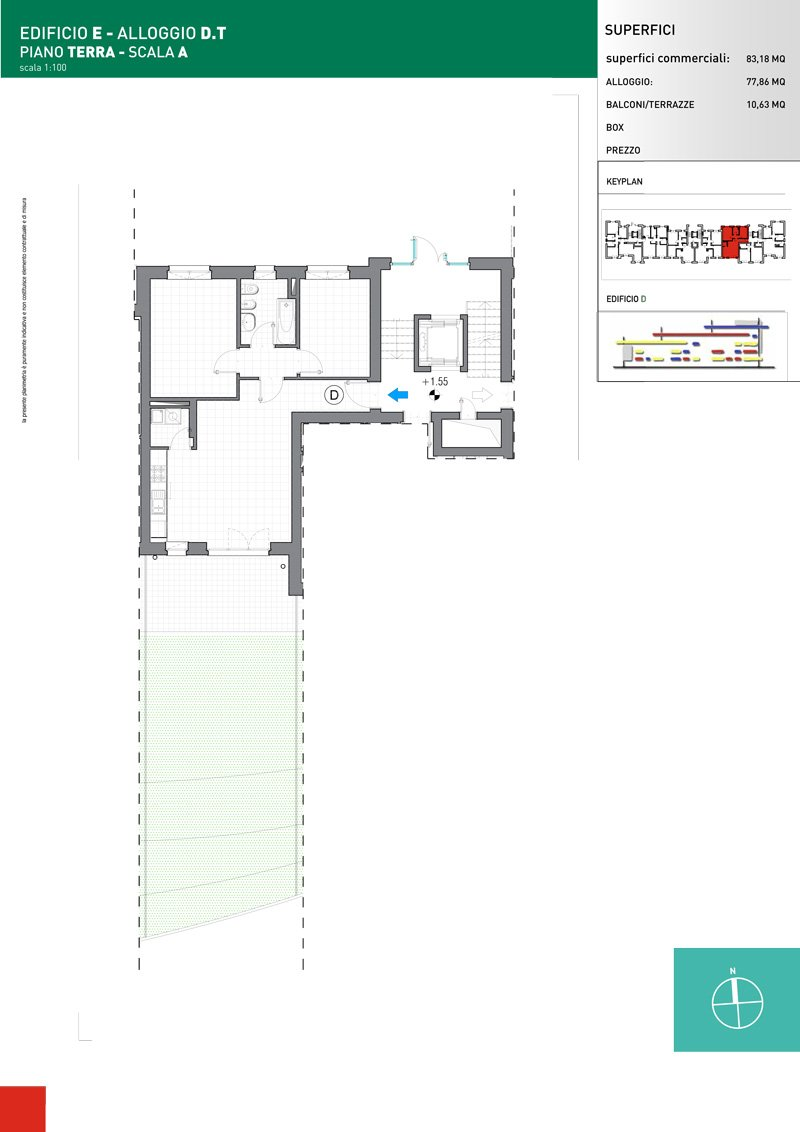 Vendita Trilocale Grugliasco - Vendita Appartamenti Grugliasco Torino | Torre Lesna