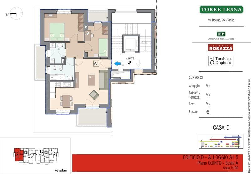 Vendita quadrilocale Grugliasco - Vendita Appartamenti Grugliasco Quadrilocali Torino | Torre Lesna