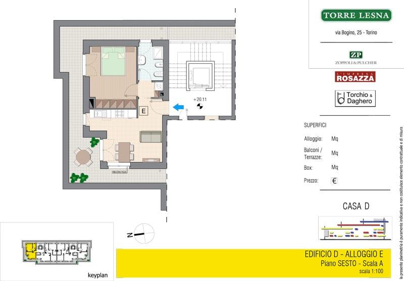 Vendita Attico, Grugliasco - Vendita Appartamenti Grugliasco Bilocali Torino | Torre Lesna