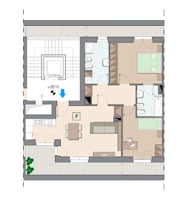 Vendita Attico Grugliasco - Vendita Appartamenti Grugliasco Quadrilocale Torino | Torre Lesna