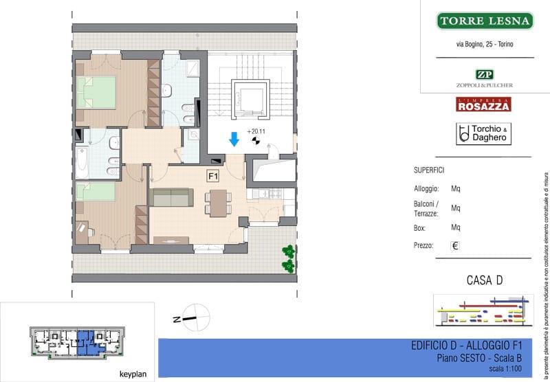 Vendita Attico Grugliasco Torino - Vendita Appartamenti Grugliasco Quadrilocale Torino | Torre Lesna