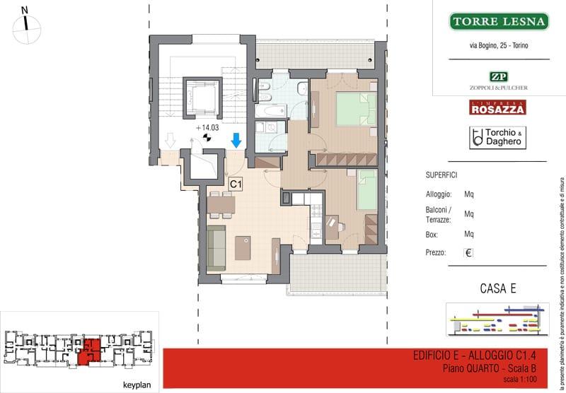 Vendita trilocale Grugliasco - Vendita Appartamenti Trilocali Grugliasco Torino | Torre Lesna