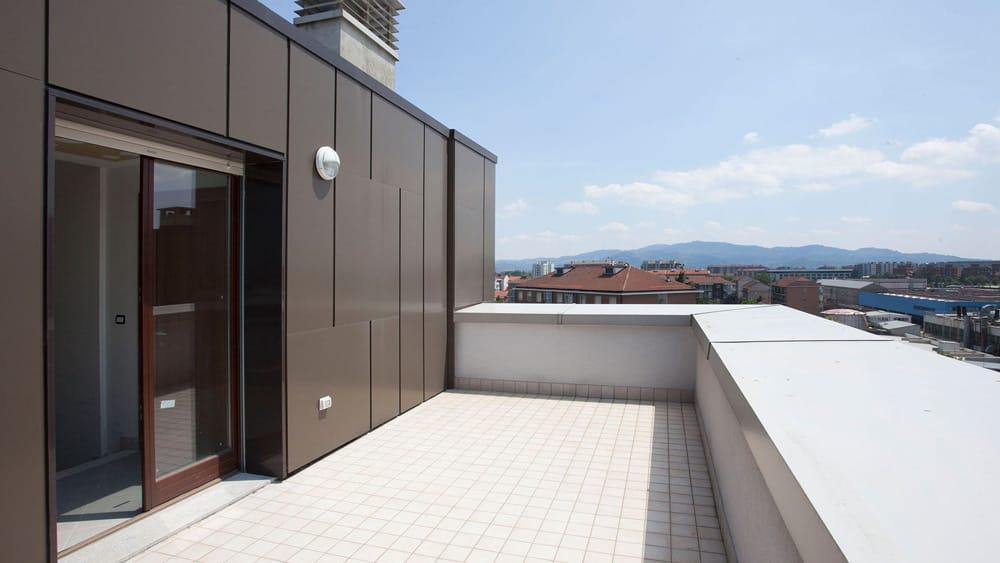 appartamenti grugliasco con terrazzi